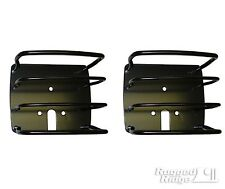 Rugged Ridge Taillight Tail Light Guards for  Jeep Wrangler TJ YJ CJ CJ5 CJ7