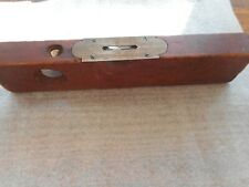 VINTAGE SARGENT & CO NY 12 INCH LONG LEVEL WITH 2 GOOD BUBBLES