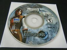 Rise of Nations: Rise of Legends (PC, 2006) - Disc 4 Only!!!