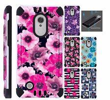 For LG Rebel 3 / Rebel 4 L158VL L157VL Phone Case Cover+TEMPERED GLASS Combat D4