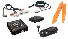 Bluetooth streaming music kit +3.5mm MP3 aux audio input jack. 2006+ Ford radio