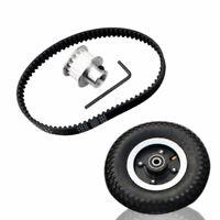 200*50mm Electric Skateboard DIY Parts Gear Motor Mount Truck Wheels Combo