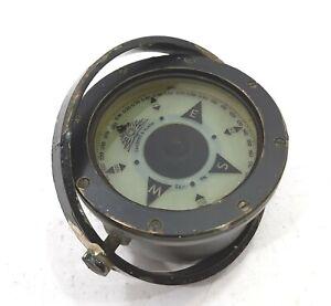 Cassens & Plath Gmbh International Lifeboat Compass Marine grey varnished Brass