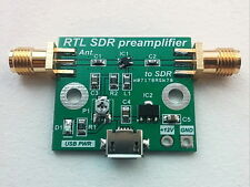 Wideband Low Noise Amplifier LNA SDR RTL preamplifier HF VHF UHF Receiver