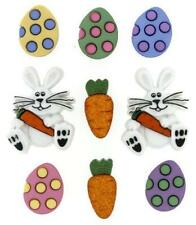 DRESS IT UP buttons. Easter Egg Hunt 7709. (clothing,cards,scrapbooks)