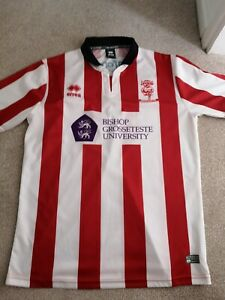 Lincoln City Fc Home Shirt 2016/17 Size Large, Excellent Condition.