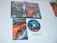 NEED FOR SPEED: UNDERGROUND game complete Greatest Hits - Playstation 2 PS2