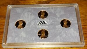 2009-S United States Mint Proof Lincoln Cent 4-coin set