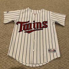 Johan Santana Minnesota Twins Swen Jersey Majestic MLB Baseball Youth Small 6-8