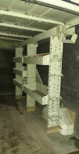 Van Racking Heavy-duty Storage Rack Metal Shelving System