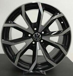 Set 4 Cerchi in lega per Volkswagen Golf 5 6 7 Tiguan T-Roc da 17 nuovi offerta