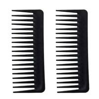 Long Tooth Styling Comb Curly Hair Brush Salon Hairdressing Wide Large Comb O6T8
