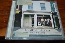 MUMFORD & SONS    SIGH NO MORE      CD   2009