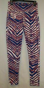 New York Giants Women's Zebra Stripe leggings - Size Medium - New W/O Tags