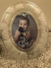 Round Crystal 8 X 10 Picture Frame