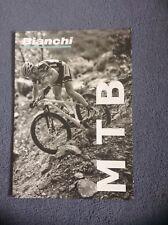 Bianchi Cycling MTB Mountain Bike Catalogue Booklet