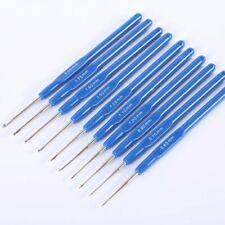 10PCS/SET Dreadlocks Braiding Tool Crochet Needle Hooks Plastic Handle Set