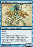 1x NM-Mint, English Regular Spellstutter Sprite Lorwyn