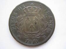 France 1814-D silver 5 Francs VF