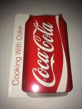 Coca Cola Cooking With Coke: Can Shaped Cookbook