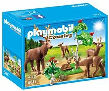 Playmobil 6817 - Branco di Cervi con cuccioli E Leprotti