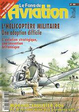 FANA DE L AVIATION N° 381 HELICOPTRE MILITAIRE / MORANE-SAULNIER 406