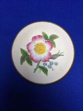 """Sweet-Briar Rose #223  4"""" - W H Bossons Chalk Ware Flower Plaque Make Offer"""