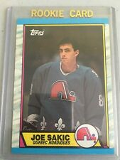 1989 89-90 Topps #113 Joe Sakic RC Rookie Quebec Nordiques