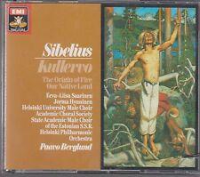 Berglund SIBELIUS Kullervo - EMI CDS 7 47496 8 Made in W.Germany No IFPI