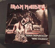 "IRON MAIDEN Zona crepuscular (Twilight zone) 7"" Spain, PROMO, 1981"