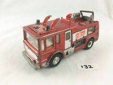 NICE VINTAGE DINKY TOYS # 285 MERRYWEATHER MARQUIS FIRE ENGINE DIECAST 1969 RED