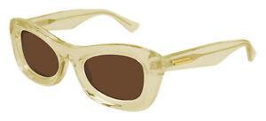 Bottega Veneta BV1088S Yellow/Brown 51/23/145 unisex Sunglasses