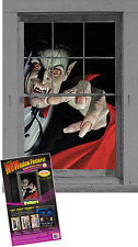 WOW Windows Vampire Dracula 3x5 Light Up Halloween Window Poster Décoration