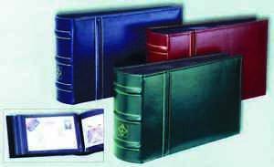 Briefalbum FDC Album Leuchtturm 195x130 mm für 100 Briefe in 3 Farben