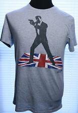 JAMES BOND 007 T-SHIRT GAP SMALL Licensed T-Shirts Spy MI6 British Secret Agent