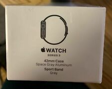 Apple MR362LL/A Watch Series 3 42mm Smartwatch Space Gray GPS Space Gray NEW