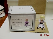 Phb Midwest Baby Doll - Has Poseable Arms Trinket Box W/ Baby Bottle Trinket