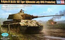 """Hobbyboss 1:35 PzKpfw.VI Sd.Kfz.182 Tiger II """"Henschel 1945"""" Tank Model Kit"""