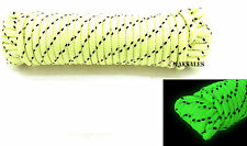 "NEW Glow In The Dark Rope 1/4"" x 50FT Tent, Caving, Boating, Camping, DIY"