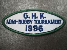 Mini Rugby 1996 Sport Cloth Patch Badge (L13K)