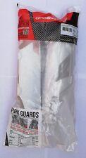 Polisport Plastic Fork Guards WHITE  WRAPAROUND ktm TYPE HONDA CRF 250/450 02-16