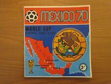 ORIGINAL PANINI MEXICO 70 WORLD CUP STICKER ALBUM