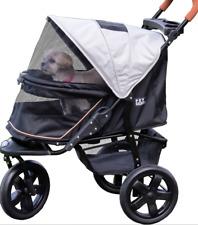 Pet Gear Stroller At3 No-Zip Dog / Cat All Terrain 3 Wheel Up to 75 Lbs New
