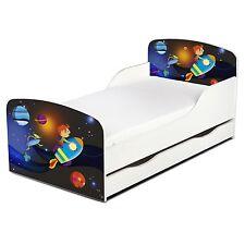 Cohete Espacial MDF cama infantil con cama inferior almacenaje Fuera Espacio