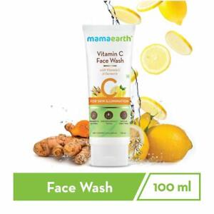 Mamaearth Vitamin C Face Wash with Vitamin C and Turmeric  100 ml