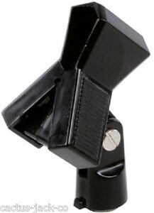 """ADJUSTABLE MICROPHONE CLAMP WITH 5/8"""" FEMALE CONNECTION"""