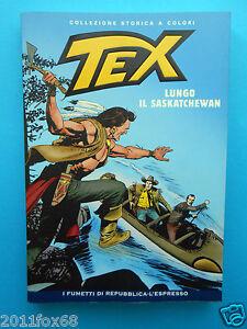 tex n. 87 collezione storica a colori lungo il saskatchewan fumetti repubblica
