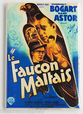 The Maltese Falcon (France) FRIDGE MAGNET (2 x 3 inches) movie poster bogart