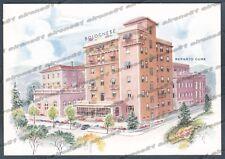 PARMA SALSOMAGGIORE TERME 123 HOTEL ALBERGO Cartolina PUBBLICITARIA
