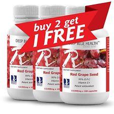 Red Grape Seed (300 caps) + New Zealand + Brain + Skin + Eyes .BUY 2 GET 1 FREE